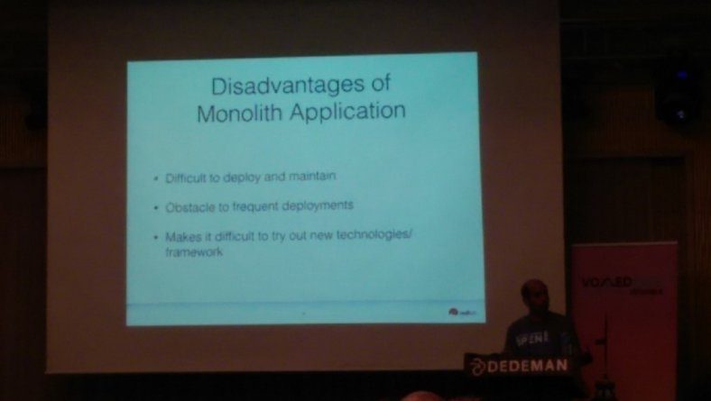 Disadvantages of Monolith Architecture