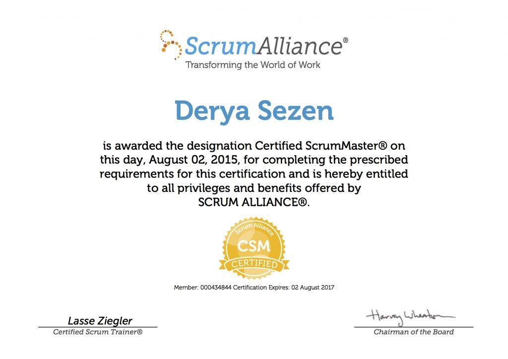 Derya Sezen-ScrumAlliance_CSM_Certificate